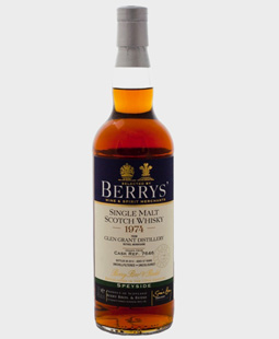Glen Grant 37 year old, Berry Bros and Rudd