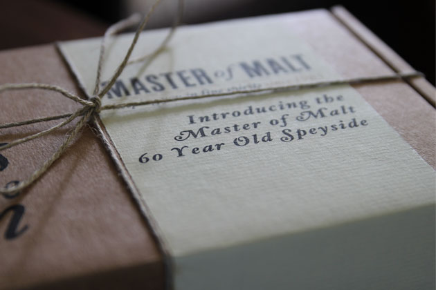 Master of Malt 60 year old package